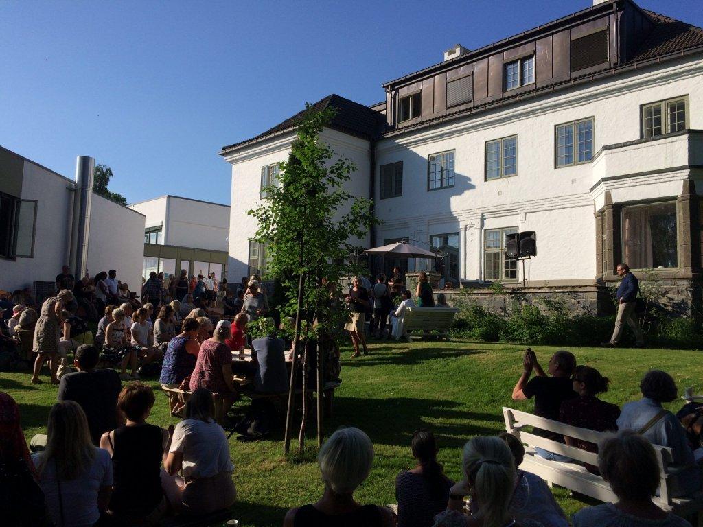 Hagefest på Nansenskolen